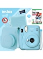 Fujifilm Fujifilm Instax Mini 11 Fotoğraf Makinesi Ve Kare Albümlü Hediye Seti 2 Mavi